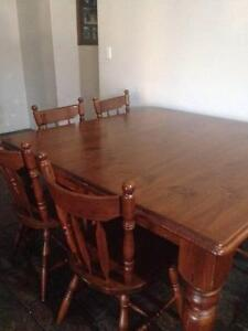 8 Seater Dining Table and four door Kitchen Dresser Gosnells Gosnells Area Preview