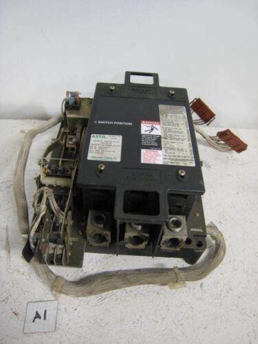 ASCO 260 AMP 208V Automatic Power Transfer Switch