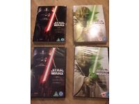 The Complete Star Wars Episodes 1-6 DVDs (6) NEW