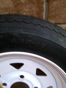 ST 4.80-12 carlise trailer tire mint condition