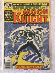 MARVEL SPOTLIGHT on THE MOON KNIGHT #28 comic book - Key Issue !