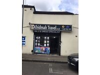 Newly Furbished shop to let-Ilford Town center- Busy parade -Separate facilities