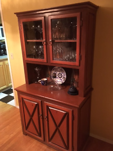 Handcrafted buffet / china cabinet