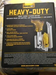 Heavey Duty boot and glove