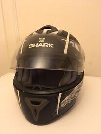 Full Face Shark Motorcycle Helmet for sale.
