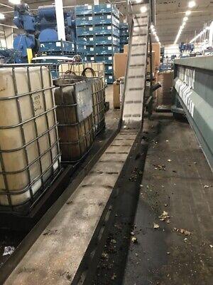 16 X 148 Livonia Magnetic Scrap Conveyor 100 Discharge Height 146 Base Leg L
