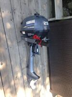 2.5 HP 4 STROKE OUTBOARD MOTOR, EXCELLENT CONDITION