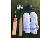 Full Cricket Kit *Equipment Only Used Twice*