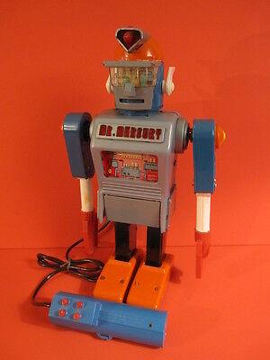 ALL ORIGINAL YONEZAWA LINEMAR Mr MERCURY ROBOT 1961 BATTERY OPERATED SPACE TOY