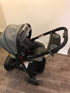 Graco click connect stroller 3 in 1 travel system