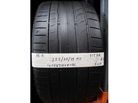 M1 1X 255/30/19 91Y ZR CONTINENTAL CONTI SPORT CONTACT MO 1X3MM TREAD