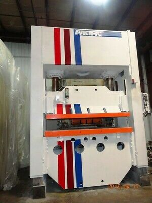 400 Ton Straight Side Hydraulic Press 18 Stroke 33 Daylight 96 Lr X 54 Fb Be