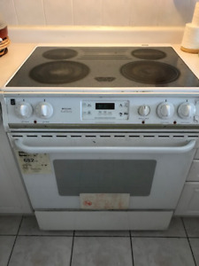 Electric Stove-Oven