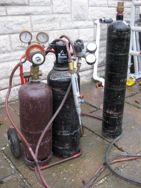 Portable oxy acetylene gas welding equipment | in Somerset | Gumtree