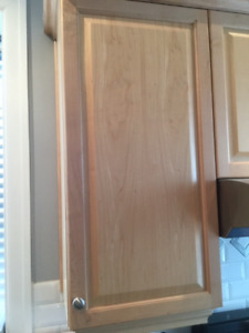 SINGLE Maple Kitchen Cabinet (Door and box)