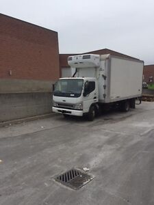 Sterling refrigeration cube van for sale