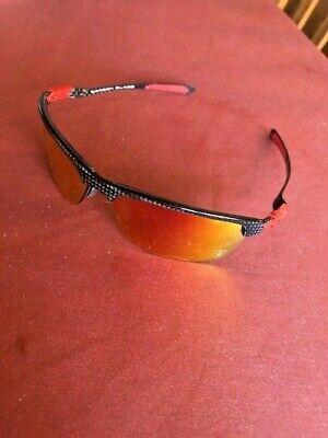 Oakley Sun Ferrari Carbon Blade Polished Carbon w/Ruby Irdium Polarized