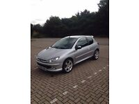 Peugeot 206s 1.4 M.O.T 17th march 2017