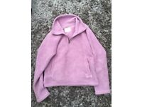 Ladies Size 12, ANIMAL top. With pockets, pale purple, lovely & soft.
