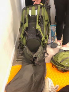 Travel Back Pack 75L MEC Used once, great condition