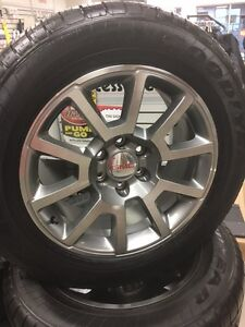 "NEW 20""  GMC TAKE OFF TIRES AND RIMS"