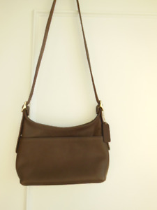 COACH 9136 – Legacy Brown Leather Cross Body/Shoulder Bag