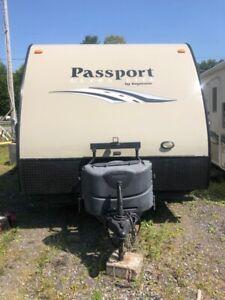 Roulotte Passport 195 RB de Keystone à vendre par le proprio