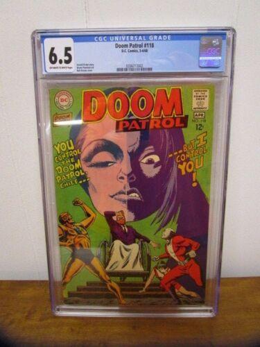 Doom Patrol #118 CGC 6.5 ~ 1968 DC Comic
