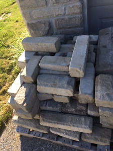 Landscaping stone for edging