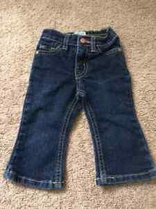 Children's Place Baby Girl Denim Jeans, size 6-9M, like new