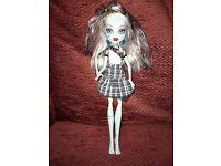 Frankie Stein Monster High Doll - noise and light