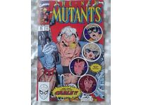 New Mutants 87 reprint. 1st app of Cable