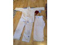 Adidas J500/160 White Judo Suit