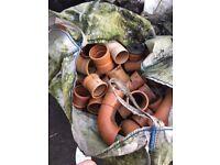 PVC Drainage Fittings - 6 Bags