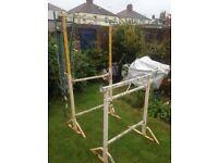 Builders / Decorators Trestles ( Adjustable height )
