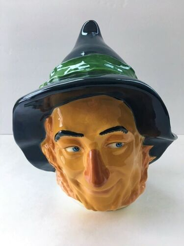 WIZARD OF OZ 1994 SCARECROW COOKIE JAR LID ONLY STAR JARS LIMITED EDITION EXUC