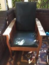 Wooden armchair of free Drummoyne Canada Bay Area Preview