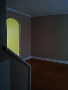 2 bedroom +den duplex available for rent July 1st.