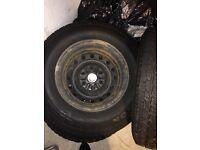 FANTASTIC CONDITION X 4 Mitsubishi warrior tyres.