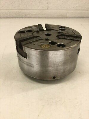 6-12 Pratt Burnerd 3-jaw Cnc Lathe Chuck 9827-17110 A1-5 Mounting Used