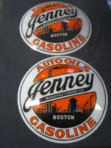 "15"" JENNEY GAS PUMP GLOBE LENSES"