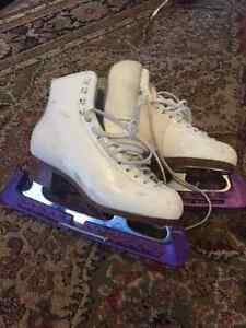 Gam size 7 skates with Ace blades