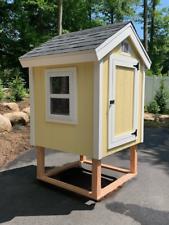 Chicken Coop Plans - Easy DIY - Comfy Coop 4x4 - Backyard ...
