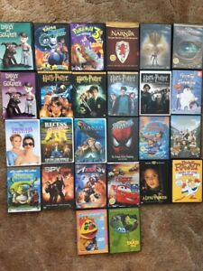 24 Kids Movies DVDs. All are in nice condition.