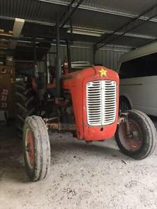 Massey Ferguson 35 Tractor  Reco Diesel Engine New Clutch Slasher Langwarrin South Frankston Area Preview