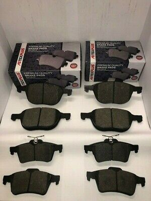 Front and Rear Brake Pads For Ford Focus MK3 2011-2018