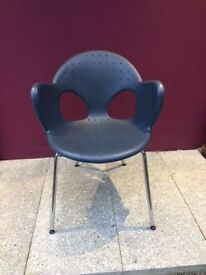 Funky retro stacking chair