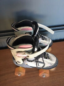 Typhoon, Pink Adjustable rollerskates, size 12-2.