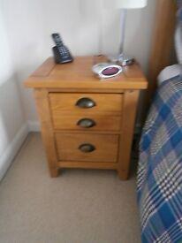 2 bedside drawer units - Bensons 'Wild Coast'