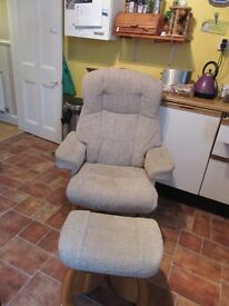 reclining and swivel chair